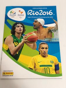 Panini Rio 2016 Olympics Complete Set Loose + Album
