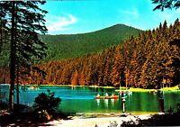 Bayerischer Wald , Großer Arbersee , Ansichtskarte , gelaufen