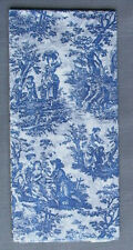 French Toile Tissue Paper Pack - Gift Wrapping Decorative Tissue Paper -3 Sheets