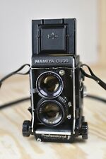 Mamiya c330f w/ 80mm f2.8 Blue Dot