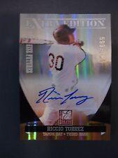 RICCIO TORREZ 2011 ELITE EXTRA EDITION FRANCHISE FUTURES SIGNATURE #599/784