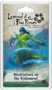 Legend of the Five Rings LCG: Meditations on the Ephemeral Dynasty Pack New