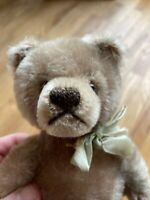 Vintage Steiff Mohair Stuffed Jointed Teddy Bear No Tags Excellent Condition  9""