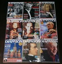 Diapason Magazine Collection With CDs - RARE Vintage French Import