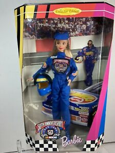 50th Anniversary Nascar 1998 Barbie Doll Collectors Edition NEW