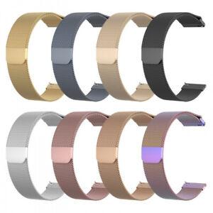 18mm 20mm 22mm Magnetic Milanese Loop Bracelet Watch Band Universal Wrist Strap