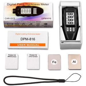 CARSYS DPM-816 - Schichtdickenmessgerät - professionelles Messgerät zur Erkennun