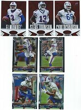 2014 Certified Red Camo Buffalo Bills lot 3 cards Cyril Richardson #'d 135/149