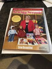 Sewing Secrets  For Dolls Clothing By Joan Hinds