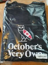 October's Very Own OVO heritage owl crewneck jumper Black XXL (2XL)