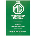 MG Workshop Manual All models from M Type to TF Complete Tuning & Maintenance