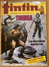 BD Comics Magazine Hebdo Journal Tintin No 20 39e No 453 15-05-84 Tounga