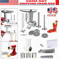 Food Meat Grinder Shredder Tomato Juicer Attachment For KitchenAid Stand Mixer