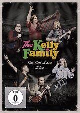 "The Kelly Family ""we got love - Live"" Doppel-DVD NEU 2017"