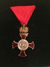 Austro Hungarian Empire Order Of Merit In Gold