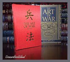 Art of War by Sun Tzu Illustrated New Collectible Silk Bound Hardcover Slipcase