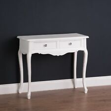Florence Two drawer console dressing Table french country shabby chic