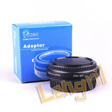 Infinity Lens Adapter For FD to Canon EOS 5D Mark 7DII 750D 80D 700D 5DR 760D