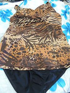 AUSTRALIAN MADE Rival Swimwear SALE Jane Tankini Underwire Set SIZE 16, 18, 20