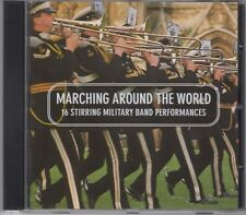 """Marching Around The World """"Various Military Bands"""" NEW CD 1st Class Post From UK"""