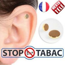 Aimant Anti Tabac Cigarette ARRETER DE FUMER Acupuncture Acupression Fumeurs 48h