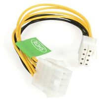 StarTech.com 8-pin Power Extension Cable (0.20m) for EPS Power Supplies