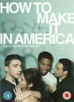 HOW TO MAKE IT IN AMERICA FIRST SEASON SERIES 1 2 DISC BOX SET HBO UK DVD NEW