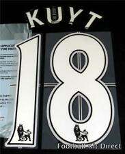 Liverpool Kuyt 18 Football Shirt Name/Number Set Lextra 2007-13 Sporting ID