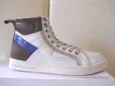 Calvin Klein uomo sneakers alte Philippe Action Leather White/Royal tg40 €119,95