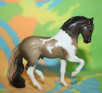 #720230 Breyer Stablemate Horse, From Set, Grulla Pinto Andalusian G2