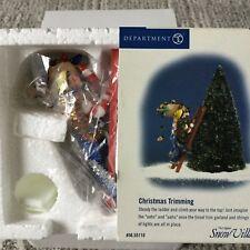 Dept 56 Snow Village® CHRISTMAS TRIMMING - BRAND NEW - STILL IN PLASTIC