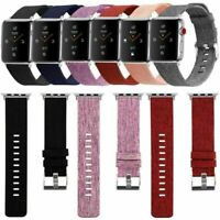 Canvas Nylon Fabric Armband Uhrenarmbänder Strap für New Watch iWatch 4/3/2/1