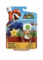 Green Toad Super Mario Toy Figure Character Nintendo Jakks Toys Boxed - New