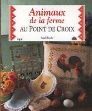 Livre : Animaux de la Ferme au Point de Croix - Angela Beazley