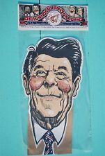 Vintage: RONALD REGAN ~ 1984 Paper Puppet People ~ Hand Puppet ~ RARE ~