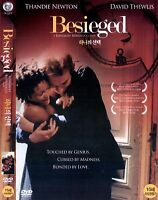 BESIEGED 1998 [Bernardo Bertolucci] NEW DVD