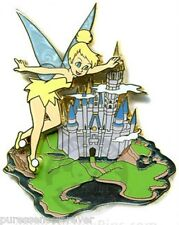 WDW Where Dreams HapPin 2007: Tinker Bell Castle LE Pin