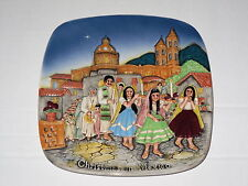 Beswick wall plate / plaque - limited edition 1973 - Christmas in Mexico