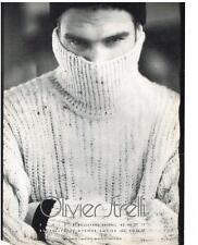 PUBLICITE ADVERTISING   1994     OLIVIER STRELLI  haute  couture