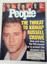 People Magazine Russell Crowe Camryn Manheim March 26, 2001 051517nonrh