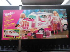 Barbie 13185 Vintage mini camper van picknick Mattel