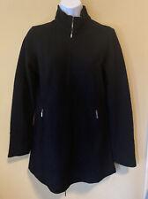 Ibex Women's Black Full Zip Merino Wool Jacket Size Small
