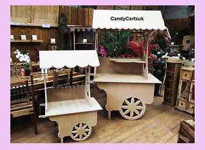 Candy Cart Sweet Cart Weddings,Christening Cart, ideal for celebrations & events