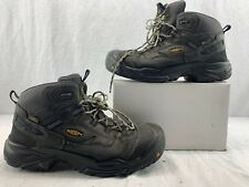 KEEN Utility 1014605 Men's Braddock Mid Soft Toe WP EH Work Boot Size 11 D