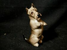 Vntg Miniature Royal Doulton Begging Scottish Terrier Puppy Dog Figurine K10