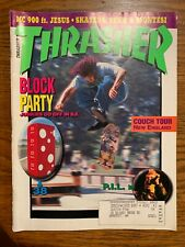 vtg Rare Thrasher Skateboard Magazine with Sean Sheffey on the Cover