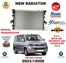 Per VW MULTIVAN Mk V RADIATORE 2003 - > 2009 1.9 TDI 2.0 3.2 V6 4 Motion MPV nuova unità