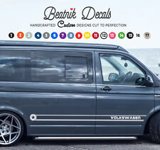 VW Volkswagen Stripe Decal T4 T5  Camper Van Graphic Sticker Side