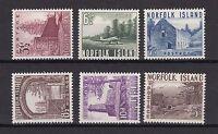 Norfolk Island 1953 postfrisch MiNr.  15-20
