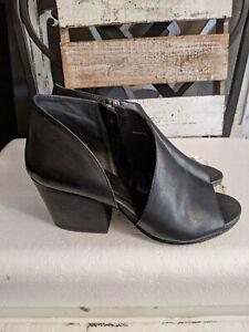 Eileen Fisher Women Shoes, Size 5.5 M US/EU 36, Black sandals